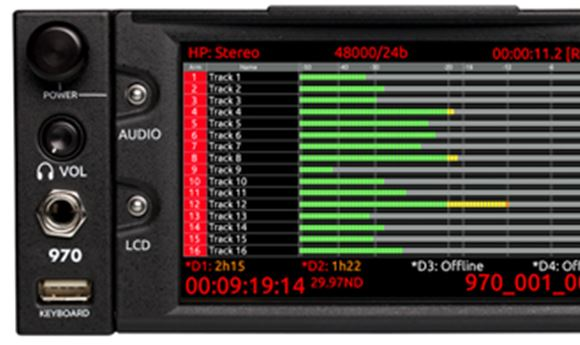 Sound Devices' 970 nominated for CAS Technical Achievement Award