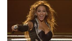Steele conforms Beyonce's concert video