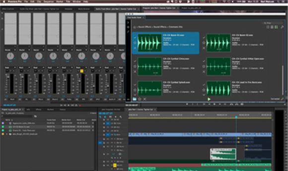Post Magazine - That Studio showing VFX & sound FX elements