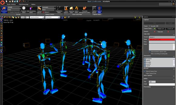 Vicon brings news mocap tools to SIGGRAPH
