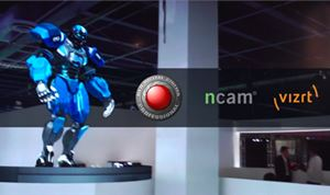 Vizrt demonstrates live 4K immersive graphics with Red Digital Cinema & Ncam