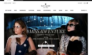 Whitehouse Post continues Kate Spade's  'Miss Adventure'