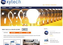 Xytech demos nimble facility management software