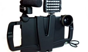 iOgrapher case improves iPad for filmmaking