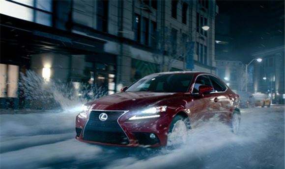 Arsenal adds winter chill to Lexus spot