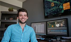 Going Pro: Assistant editor Dustin Kaufman