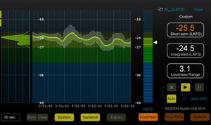 Review: Nugen Audio's VisLM loudness meter