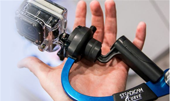 Steadicam Curve helps GoPro users