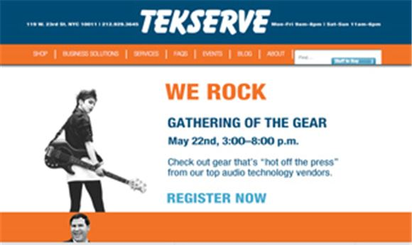Tekserve to host audio fair May 22nd
