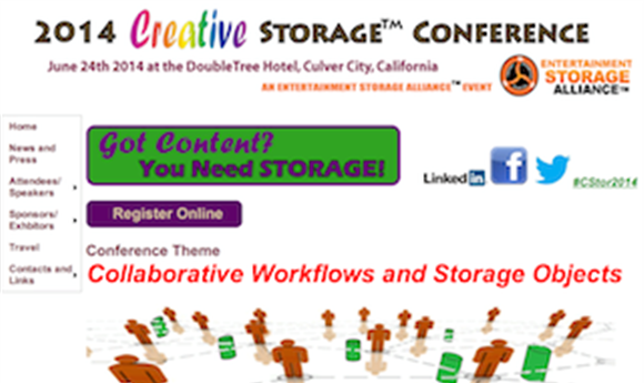 Creative Storage Conference to hold future of content delivery panel