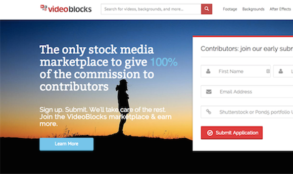 Videoblocks' new stock video site offers full commission to contributors