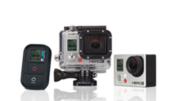 GoPro intros Hero3 line, including the Black which captures 4K