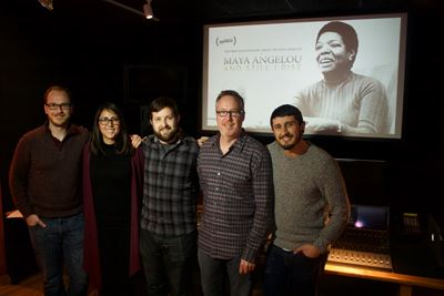 Bam mixes 'Maya Angelou' for Sundance premiere