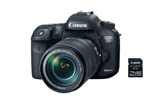 Canon debuts new 7D Mark II kit with Wi-Fi adapter