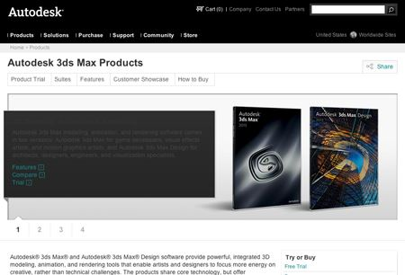 Autodesk opens Animation Store within 3DS Max