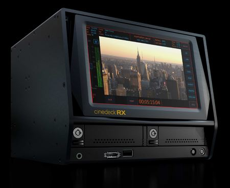 Cinedeck ships new solid-state recorder