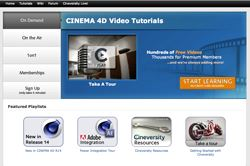 Maxon re-launches Cineversity Website