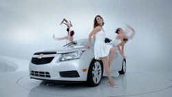 Super Bowl: Collaboration Factory pairs Chevy & 'Glee'
