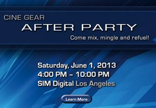 CINE GEAR EXPO: SIM Digital to exhibit & host After Party