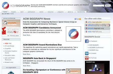 SIGGRAPH heads to Anaheim in '13, Vancouver in '14