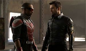 STREAMING: Disney+'s <I>The Falcon and The Winter Soldier</I>