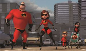 Animation: Disney-Pixar's <I>Incredibles 2</I>