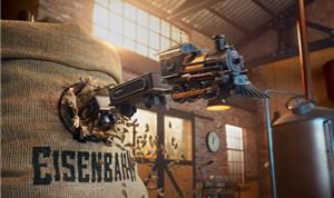 Lobo mixes media for Eisenbahn's <I>Locomotive</I> spot
