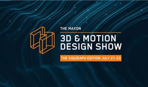 Maxon announces lineup for '3D and Motion Design Show'