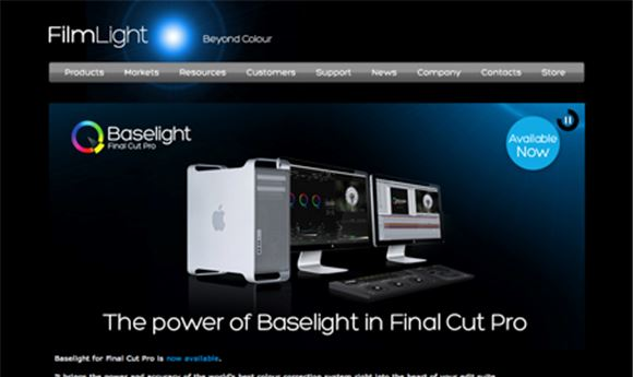 FilmLight brings Baselight color grading to FCP 7