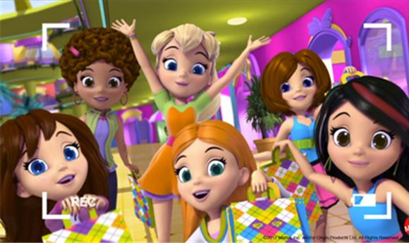 Polly Pocket Friends Finish First